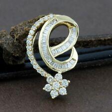 Genuine 18CT Solid Yellow Gold Genuine Diamond Pendant