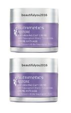 NUTRIMETICS RESTORE ANTI-AGING DAY CREME SUNSCREEN FREE 60ML X 2 RRP $132