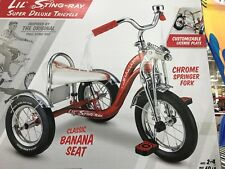Schwinn LIL STING-RAY tricycle, krate, stingray,fastback,muscle bike,