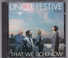 UNCLE FESTIVE-THAT WE DO KNOW-CD DENON 1989-JAPAN-WHALUM/TOWER OF POWER HORNS