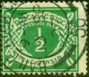Ireland 1925 1/2d Emerald-Green SGD1 Fine Used