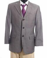 HUGO BOSS Sakko Jacket Angelico Gr.44 grau meliert Einreiher 3-Knopf -S457