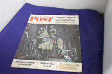 Vtg 1962 NOV 3 THE SATURDAY EVENING POST MAGAZINE - NORMAN ROCKWELL COVER