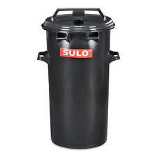 SULO Mülltonne Abfalltonne Müllbox Mülltrennung Restmüll 50 Liter rund, grau NEU