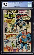 World's Finest Comics #179 CGC VF/NM 9.0 Off White to White