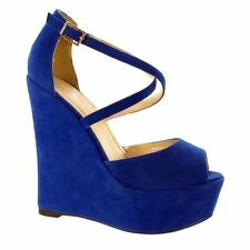 Platform, Wedge Suede Standard Width (D) Shoes for Women