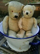 "Antique large 29"" jointed mohair traditional teddy bear collectors teddy"