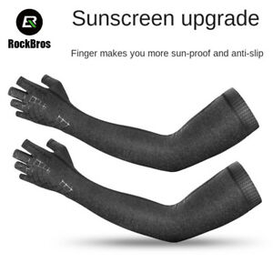 RockBros Sun Protection Viscose Fiber Oversleeves Gloves Cycling Ice Sleeve AP