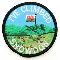 I/'VE CLIMBED BEN NEVIS Embroidered Sew on Patch Approx 70mm FREE UK Delivery