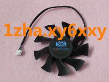 For 75mm ATI Sapphire HD 4890 5850 6790 Fan 39mm 4Pin FD8015H12S 0.32A @Z62