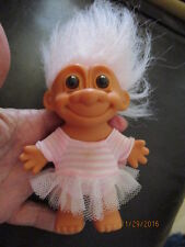 Retired Clean Troll Doll dressed & in Great Condition by Russ