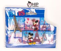 Disney Paris Themed Mickey & Minnie Mouse Authentic Disney Trading Pin Set