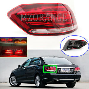 LED Left Side Rear Outer Tail Light Lamp for Benz E-Class W212 S212 2014-2016 LH
