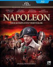 Napoleon 1-4 - Christian Clavier, Gerard Depardieu (2002) Fernsehjuwelen BLU-RAY