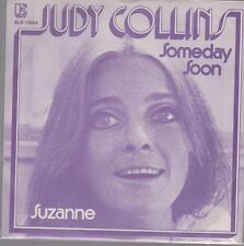 "7"" Judy Collins Someday Soon / Suzanne 70`s Elektra Kinney Music"