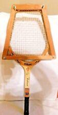 Vintage Wilson Valiant Junior Jack Kramer Edition Tennis Racket Collectible