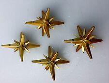 50S GOLD MATTE SPUTNIK ORNAMENTS FOR ALUMINUM CHRISTMAS REE