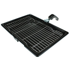 Cooker Oven Grill Pan Tray With Rack & Handle For Belling 380mm X 270mm