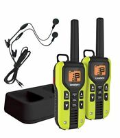 Uniden 40-Mile GMR4060-2CKHS GMRS/FRS Two-Way Radio With Charger and Headsets