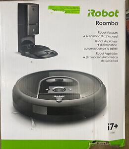 iRobot Roomba i7+  i7550 Wi-Fi Robot Vacuum Cleaner, **READ DESCRIPTION**