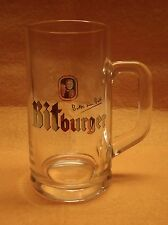 Bitburger Beer Glass Mug Germany .3L