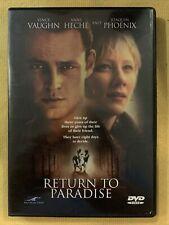 Return to Paradise (DVD, 1999)