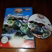 HotWheels DVD Pack Monster Jam Tour Crushers El Toro Loco VS Blue Thunder with V