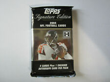 2004 Topps Signature Edition Football Unopened Pack