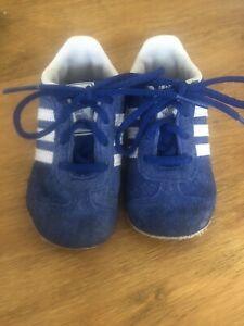 Adidas Gazelle Soft Sole Infant Size 4