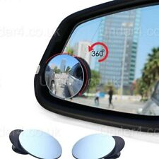 Car BLIND SPOT MIRROR Towing Reversing Side Rear Driving ADHESIVE Van Bikes x 2