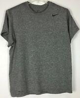 Mens Nike Athletic Shirt XL Short Sleeve Crew Swoosh Dri Fit