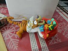 Disney Grolier Christmas Ornament Tigger from Pooh In Box Free Ship