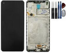 Original  Samsung Galaxy A21s  A217F LCD Display Bildschirm Touch Rahmen schwarz