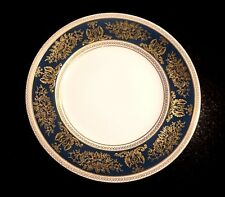 Beautiful Wedgwood Columbia Blue And Gold Dinner Plate