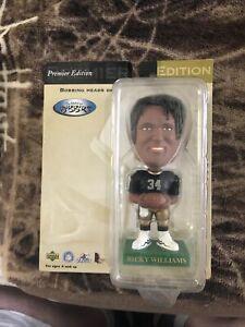 Bobbin Bobbers Upper Deck Ricky Williams 1999  Bobble Head New Orleans Saints