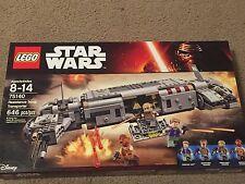Lego  Star Wars Resistance Troop Transporter Set #75140 With 646 Pieces!