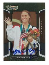 AMANDA BEARD 2008 DONRUSS SPORTS LEGENDS AUTOGRAPH CARD #56 OLYMPIC SWIMMING