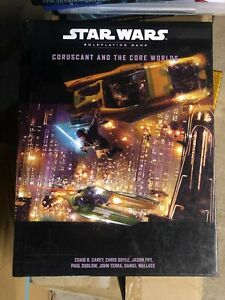 Star Wars roleplaying game - Coruscant and the core worlds - Craig R. Carey