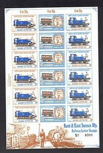 GB railways Kent and East Sussex sheet of18 UHM