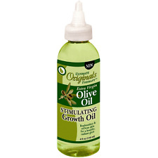 Ultimate Organic Therapy Extra Virgin Olive Oil Stimulating Growth Oil 4 oz