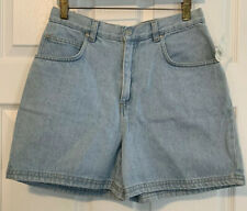 Women's Vintage Nwt Honors High Waist Mom Jean Shorts Size 16R Light Wash 90s