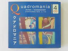 4 CD Quadromania Tchaikovsky Symphonies No 2 4-6 Justus Franz
