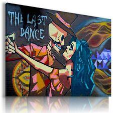 STREET GRAFFITI DANCE CANVAS WALL ART PICTURE LARGE AB851 MATAGA .