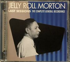 Jelly Roll Morton. Last Sessions The Complete General Recordings. Jazz CD