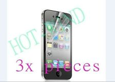 3X Pcs Lcd Definition Protective Film Protector Screen Guarder f Iphone 3 3G 3Gs
