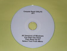 Computer Repair Utility Kit 2011 Diagnostics CD