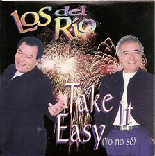LOS DEL RIO - take it easy CD SINGLE 1TR PROMO 1997