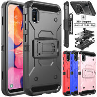 For Samsung Galaxy S20 Ultra 5G Case Heavy Duty Belt Clip Holster with Kickstand