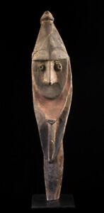 Yena figure, washkuk hills, nokuma, oceanic art, papua new guinea