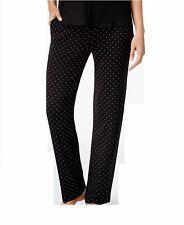 Alfani Essentials Separates Women's Knit Onyx Pindot Pajama Pants XXX-LARGE NWOT